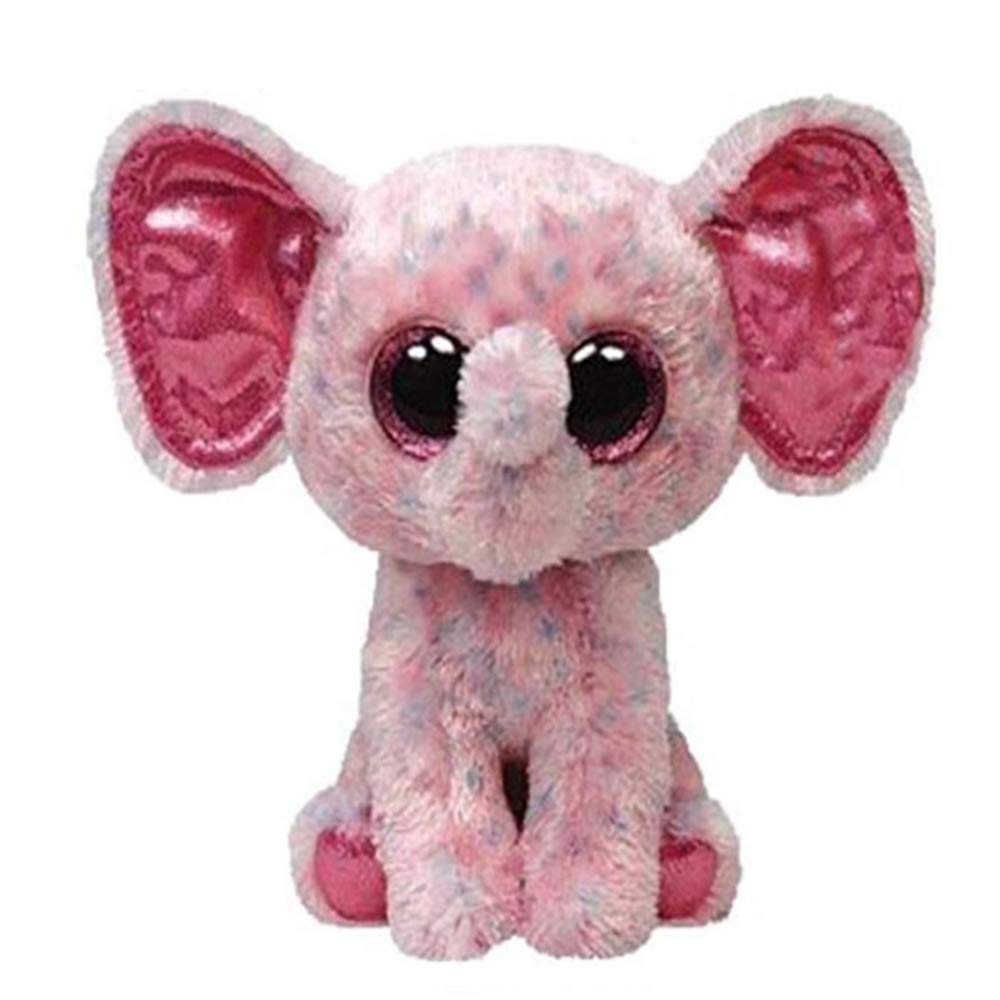 Wanxiangguichun Peluches Pink Elephant Plush Regular Soft Ojos ...