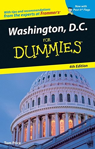 Washington  D C  For Dummies  Dummies Travel