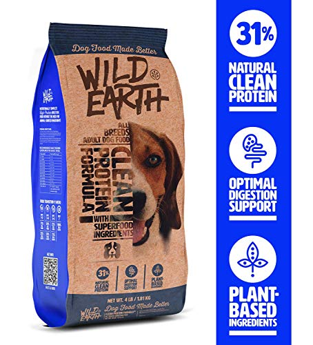 Wild Earth Clean Protein Formula All Breeds Adult Dog Food (4-lb)