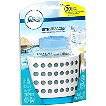 Amazon.com : Febreze Small Spaces Linen and Sky Starter Kit Air ...