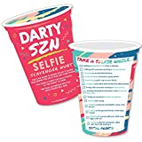 Darty SZN - Selfie Scavenger Hunt - Day Drinking Party Season Game - Set of 12