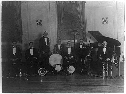 Photo: Musicians,Charlie Miller,Elwood Wilson,Robert Blatt,hotel,Washington - Cinema Elwood