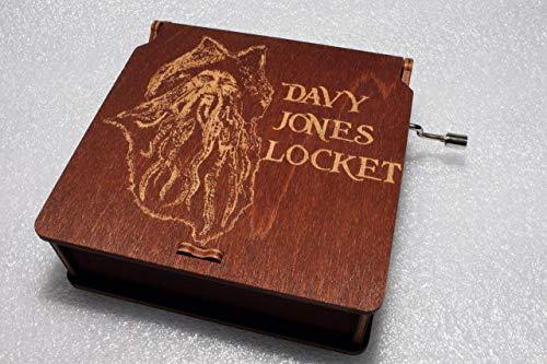 Davy Jones Locket Music Box - Pirates Of
