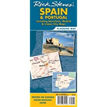 Rick Steves Spain & Portugal Planning Map: Including Barcelona, Madrid & Lisbon City Maps