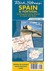 Rick Steves Spain & Portugal Planning Map: Including Barcelona, Madrid & Lisbon City Maps