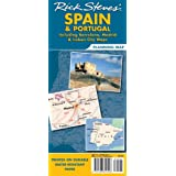 Rick Steves' Spain and Portugal Map: Including Barcelona, Madrid and Lisbon