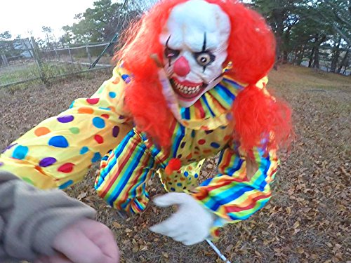 Scary Killer Clown tries to Take Kid