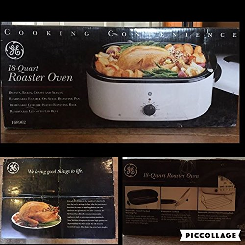 GE 18-Quart Roaster Oven - Roasts, Bakes, Cooks and Serves ()