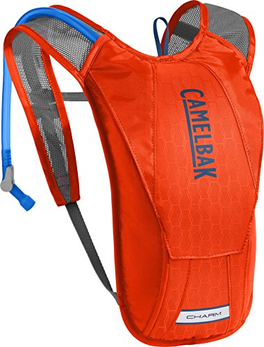 CamelBak Women's Charm Crux Reservoir Hydration Pack, Cherry Tomato/Pitch Blue, 1.5 L/50 oz