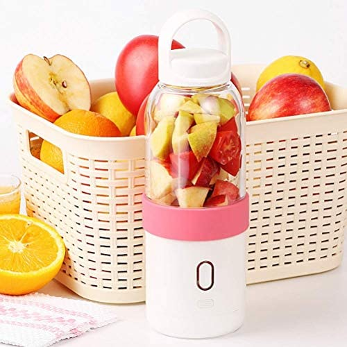Juicer Cup Portable Blender Personal Mixer Usb Recargable Fruit Juicer Maker Extractor de Frutas Adecuado para el Hogar Al Aire Libre 550 Ml, O&YQ