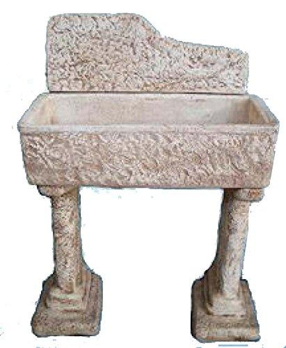 Lavello Lavabo in Cemento da Giardino Lavello Rustico Completo - H ...