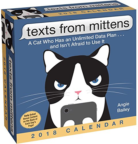 Texts from Mittens the Cat 2018 Day-to-Day Calendar cover