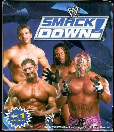WWE Lamincards 2005 Box 24 Packs Wrestling Edibas by Edibas