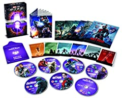 All Regions blu-ray release, playable on all worldwide blu-ray players. Please note that Disney Rewards are not available in the US (only available in the UK).   Enjoy this Collector's Edition including all the films from Phase 2 of the Marvel Cinema...
