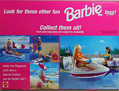 Pearl Beach Barbie CASCADING WATER POOL Playset w Slide (1998 Arcotoys, Mattel)
