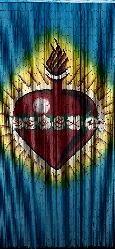 - Bamboo Beaded Curtain , Sacred Heart1