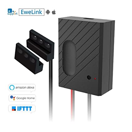 eachen wifi remote control garage door openers inching relay switch using ewelink app compatible with amazon - Garage Door Opener Amazon