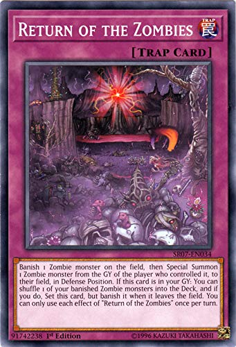 Yu-Gi-Oh! - Return of The Zombies - SR07-EN034 - Common - 1st Edition - Structure Deck: Zombie Horde