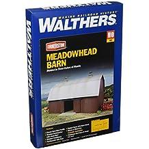 Walthers Cornerstone  Rural USA - Meadowhead Barn Plastic Kit