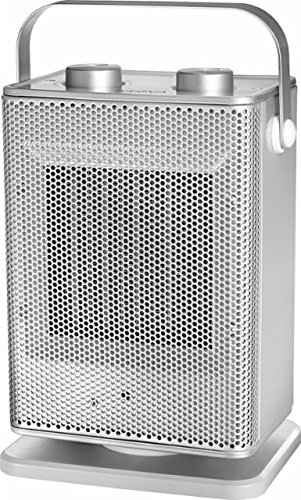 Insignia Oscillating Ceramic Heater Silver