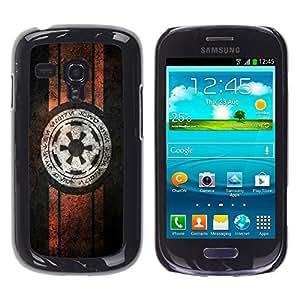 iKiki Tech / Estuche rígido - Starwars Alianza Rebelde - Samsung Galaxy S3 MINI 8190