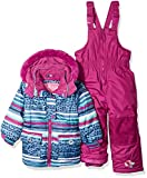 Wippette Girls' Toddler Baby Girls & Toddler Insulated Snowsuit