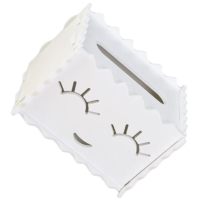Gespout Caja de Pañuelos de Papel Almacenamiento Portapañuelos de ...