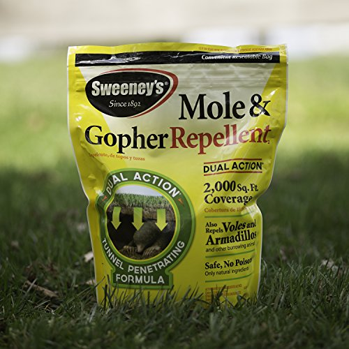 Sweeney's S7001-1 Mole and Gopher Repellent Granules, 4 lb.