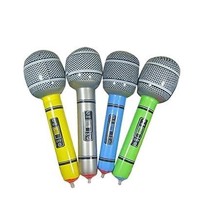 Amazon.com: diercosy micrófono hinchable Universal Blow Up ...