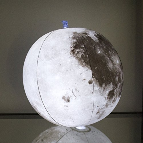 Inflatable Light Up Moon Globe The Earth S Night Light