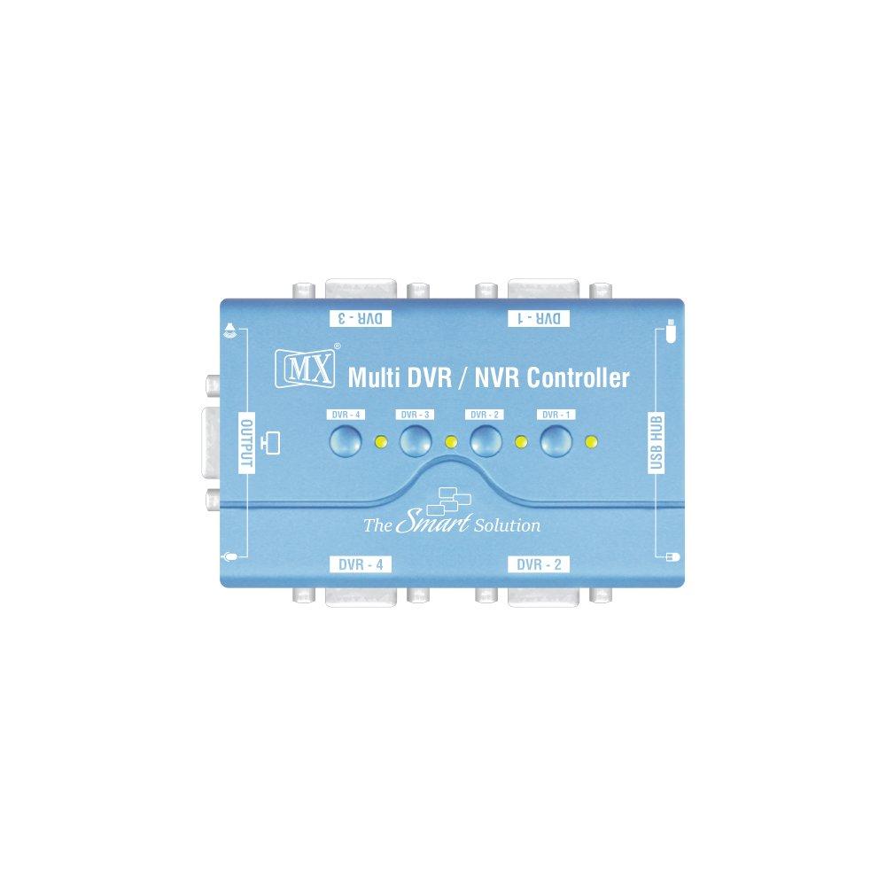 Buy MX Multiple DVR HVR & NVR Controller - 4 PORT VGA USB KVM SWITCH ...