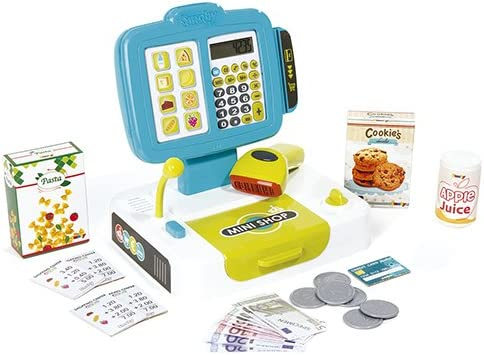 Caja registradora con calculadora y accesorios (Smoby 350104 ...