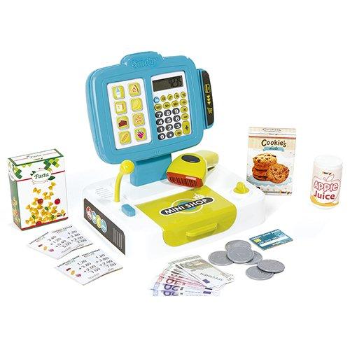 Caja registradora con calculadora y accesorios (Smoby 350104): Amazon.es: Juguetes y juegos