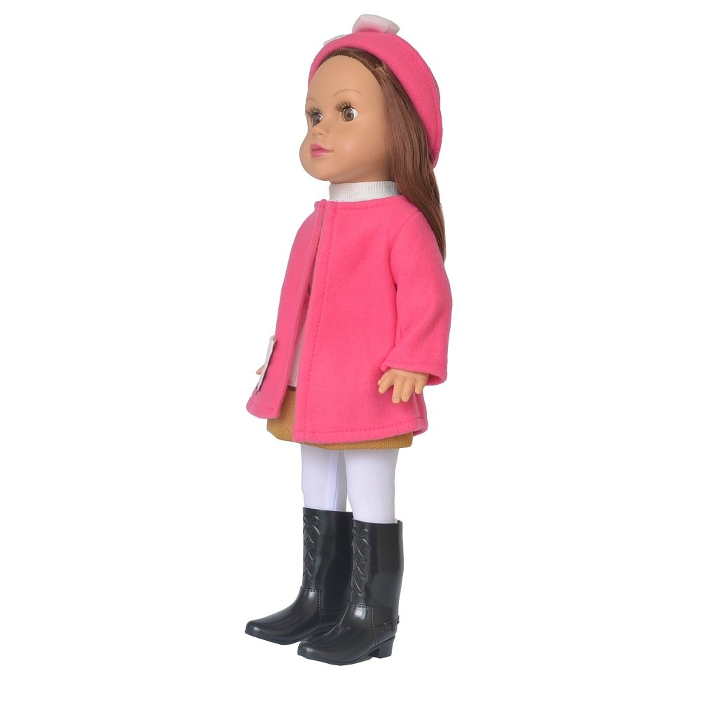 18 inches Dolls for Age 5+ Smile Blink Eyes Changeable Clothes Melissa RICHFREE Movable Limbs Stand Up Rifi American Living Style Girls Doll