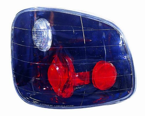 Depo 330-1911P-US2 Black Flareside Tail Light (03 F150 Flareside Tail Lights)