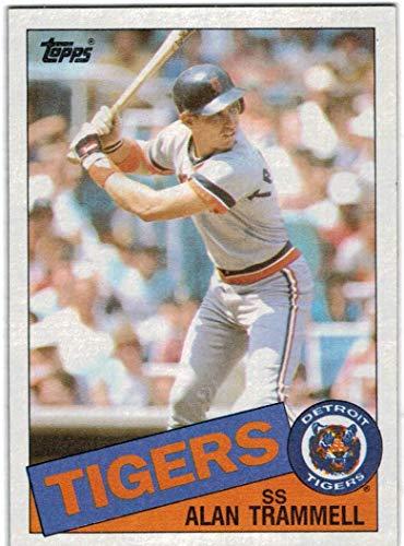 1985 Topps Detroit Tigers Team Set with Alan Trammel & Jack Morris - 30 MLB Cards ()