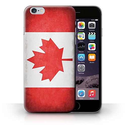 Hülle Case für iPhone 6+/Plus 5.5 / Kanada/Kanadische Entwurf / Flagge Collection