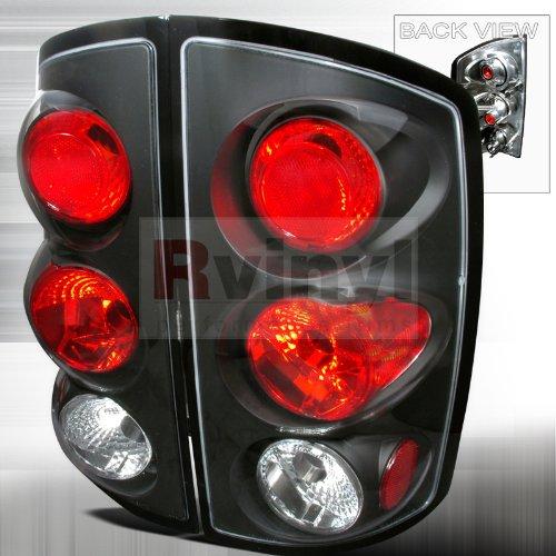 05 Dodge Ram Altezza Tail - Spec-D Tuning LT-RAM02JM-TM Dodge Ram 1500 2500 3500 Black Housing Altezza Tail Lights