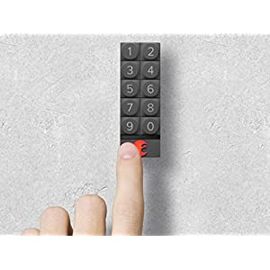 August Home AK-R1 August Smart Keypad, Dark Gray