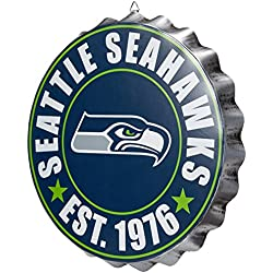 Seattle Seahawks 2016 Bottle Cap Wall Sign