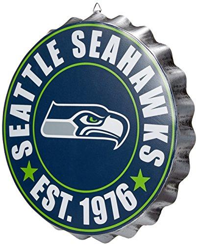 Foco Seattle Seahawks 2016 Bottle Cap Wall Sign