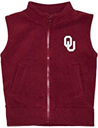 Creative Knitwear University of Oklahoma Sooners Newborn Infant Baby Polar Fleece Vest