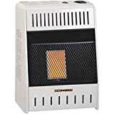Kozy World KWN109, 6K BTU Natural Gas Infrared Wall Heater, Cream