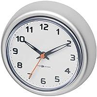 mDesign Reloj de baño con Ventosa – Reloj