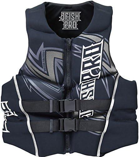 【37%OFF】 JNV-382 ジェイフィッシュ ライフジャケット ネオプレン ウエット JCI予備検査承認 ジェットスキー 水上バイク 水上オートバイ シルバー メンズL