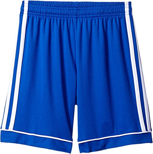 adidas Youth Soccer Squadra 17 Shorts, Bold Blue/White, Medium