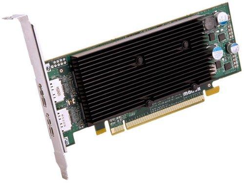 Matrox M9128 LP grafische kaart (PCI-e, 1 GB, DDR2 geheugen)