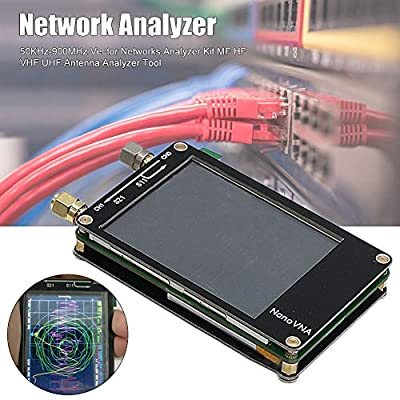 CerisiaAnn Networks Analyzer Kit, 50KHz-900MHz Vector MF HF VHF UHF Antenna Analyzer Tool