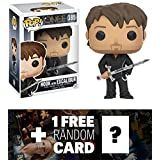 Hook w/ Excalibur: Funko POP! x Once Upon A Time Vinyl Figure + 1 FREE American TV Themed Trading Card Bundle (108492)