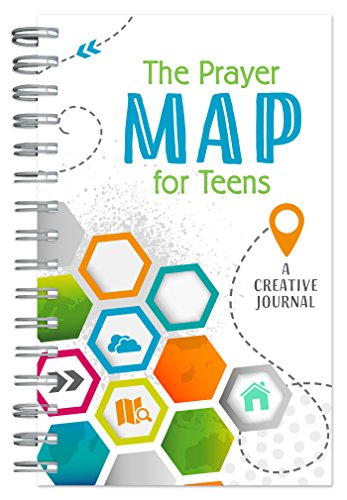 The Prayer Map for Teens: A Creative Journal (Faith Maps) - Pray Prayer Journal